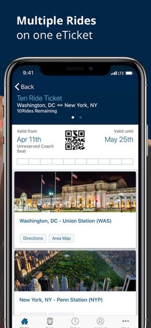 Amtrak on the App Store