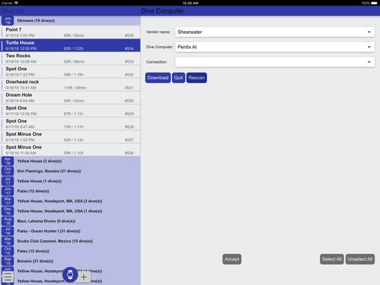 Subsurface-mobile screenshot