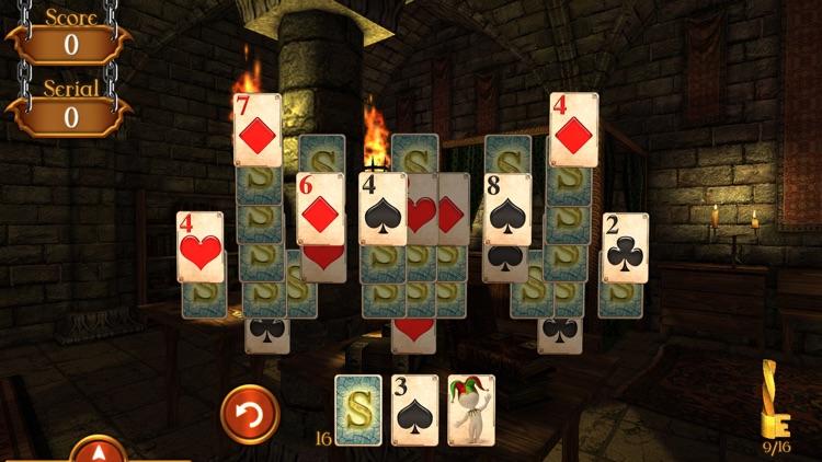 Solitaire Dungeon Escape screenshot-4