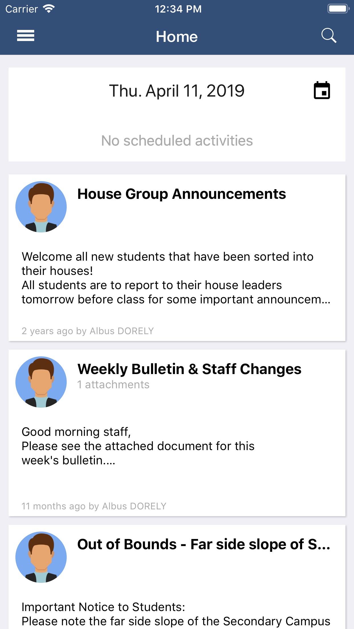 Compass School Manager Screenshot