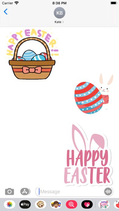 Animated Easter Sticker screenshot 1