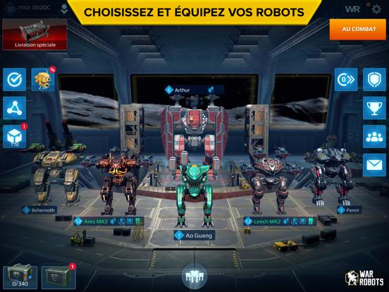 Screenshot #5 pour War Robots. PvP Multi-joueur