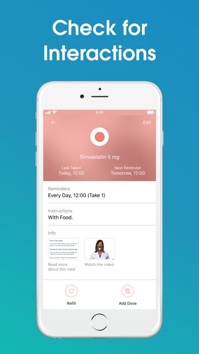Medisafe Medication Reminder, Prescription and Pill Organizer screenshot