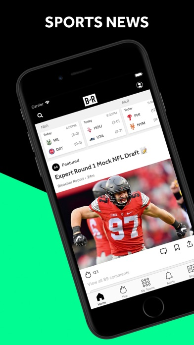 Screenshot for Bleacher Report: Sports News in Canada App Store