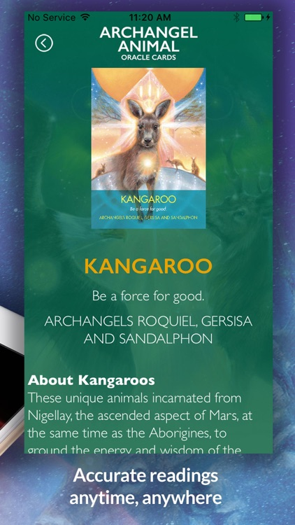 Archangel Animal Oracle Cards screenshot-4