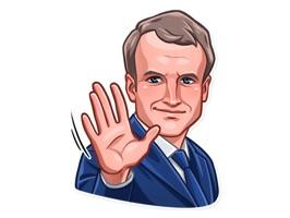 E. Macron Stickers