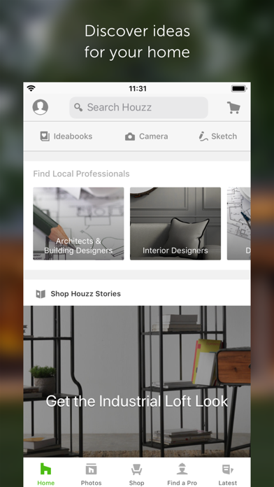 Screenshot for Houzz Home Design & Renovation in Jordan App Store