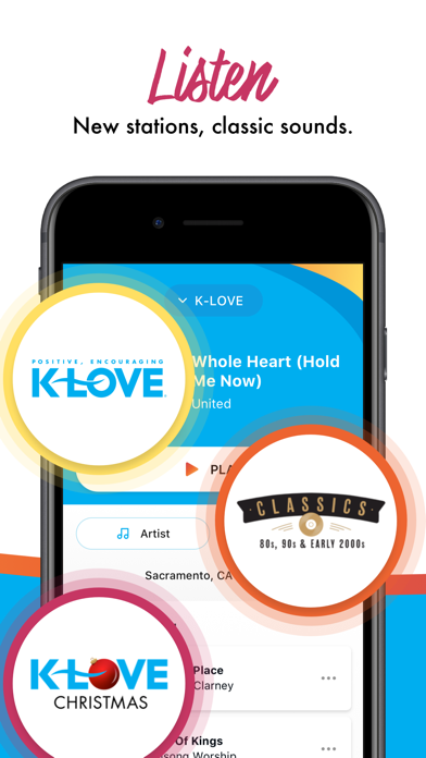 messages.download K-LOVE software