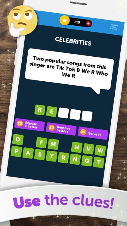 Crossword Quiz - Word Puzzles! screenshot-4