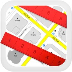Planimeter for map measure