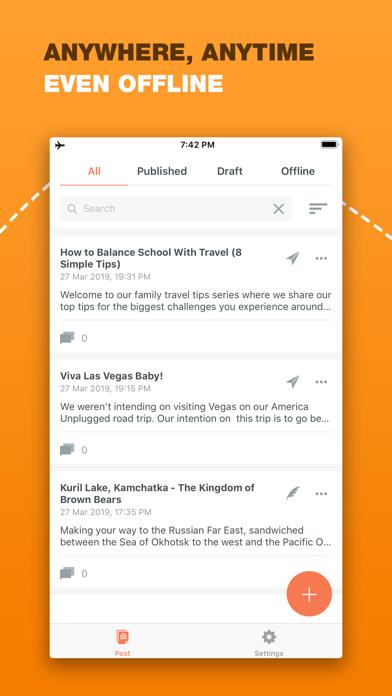 Blogg for Blogger Screenshots