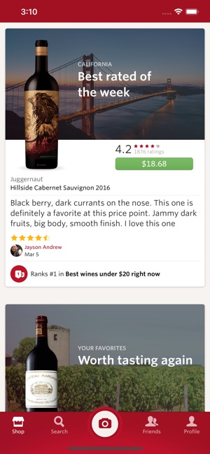 Vivino Screenshot