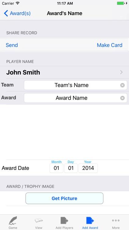 Basketball Player Stat Tracker screenshot-3