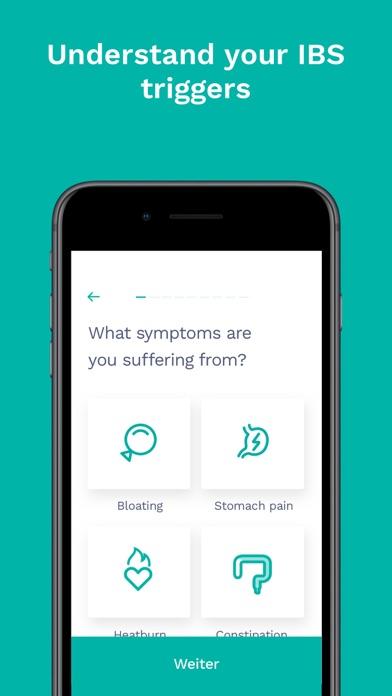 Cara Care: IBS, FODMAP Tracker Screenshot