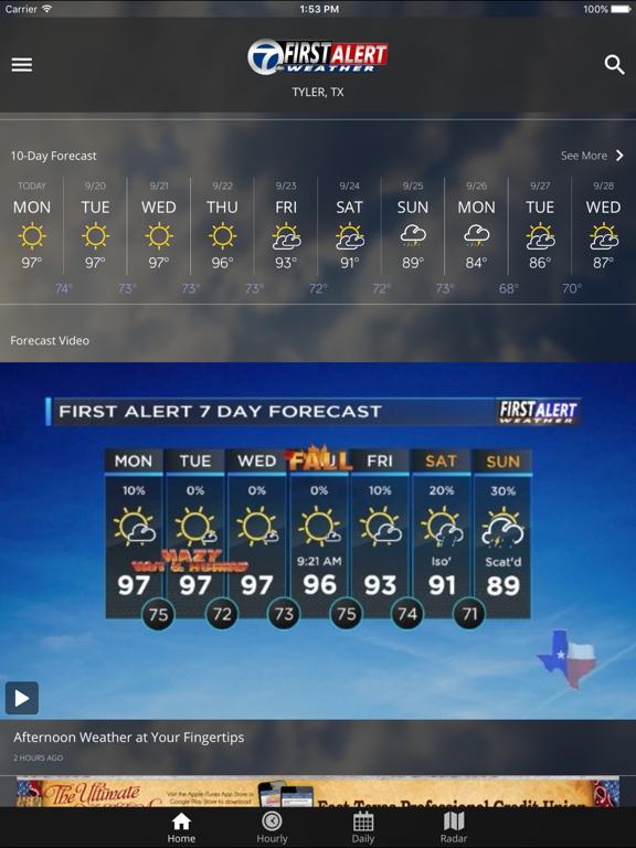 KLTV First Alert Weather by KLTV, LLC (iOS, United States