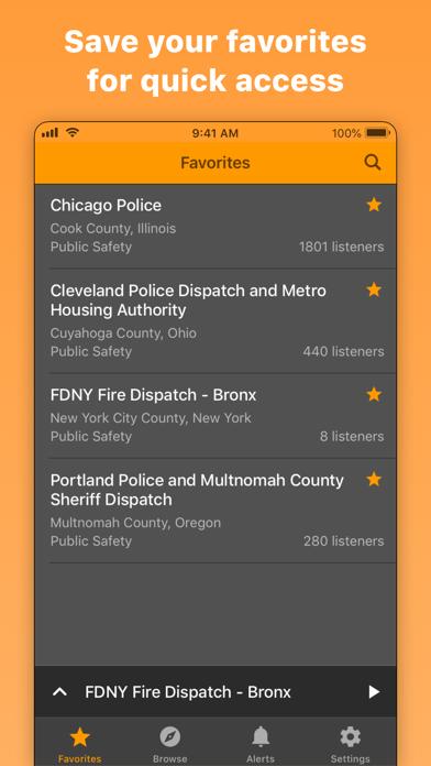 Scanner Radio: Police & Fire by GordonEdwards net LLC (iOS, United