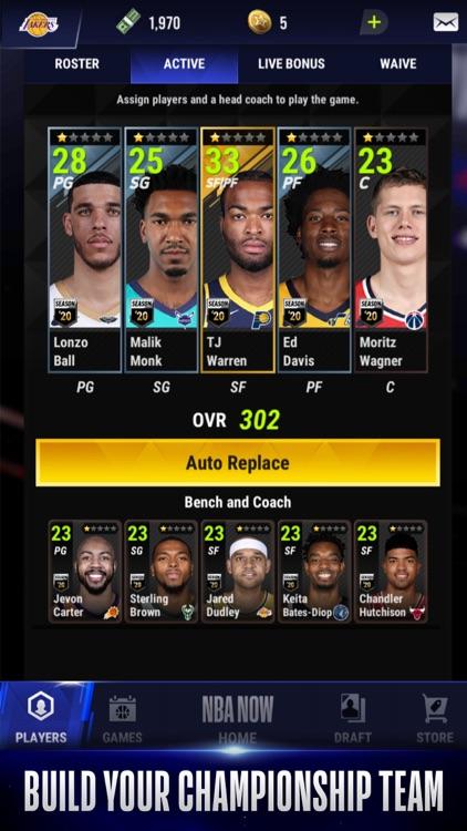 NBA NOW Mobile Basketball Game screenshot-3
