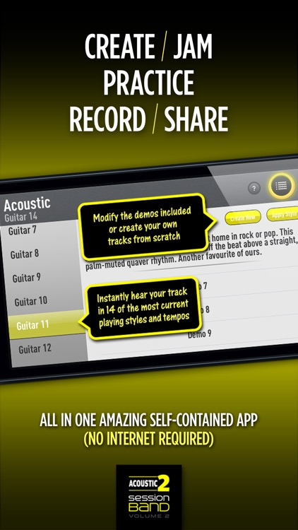 SessionBand Acoustic Guitar 2 screenshot-3
