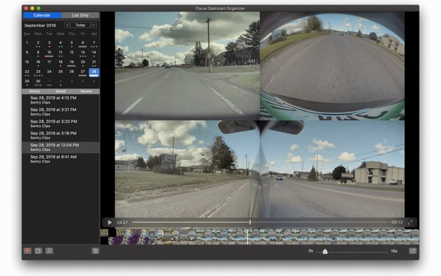 Focus Dashcam Organizer updated with in-app editing Image