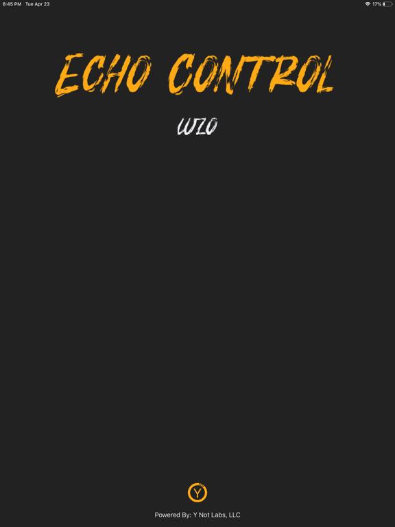 Ipad Screen Shot Echo Control 0