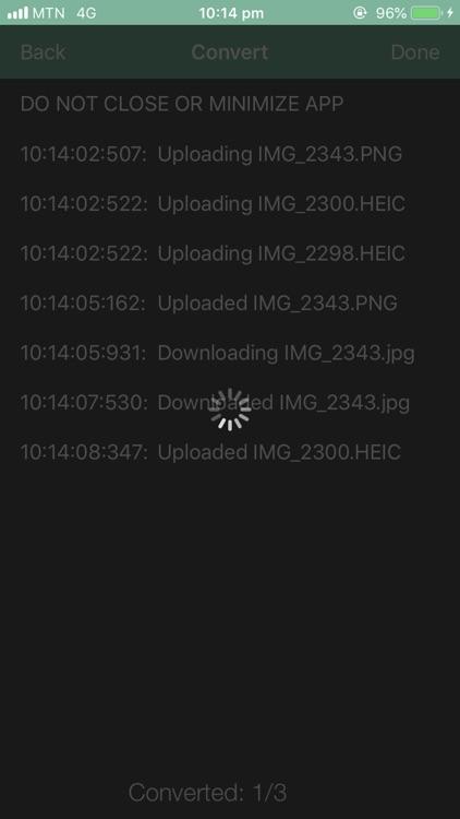 Jpeg Png Webp Converter screenshot-3