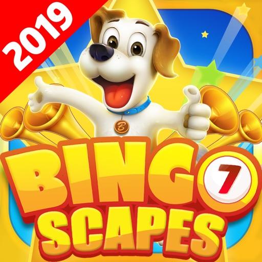 Bingo Scapes! Bingo Party Game iOS App