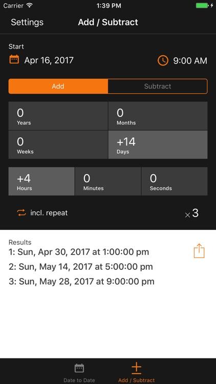 Time & Date Calculator by timeanddate com