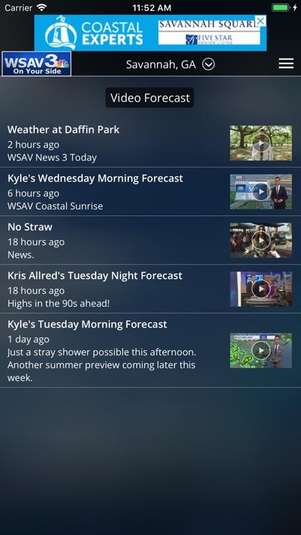 WSAV Weather screenshot-3
