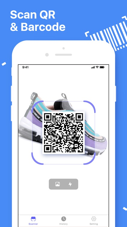 Barcode Scanner QR Code Reader