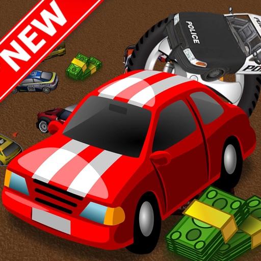 Cartoon Car Chase Challenge