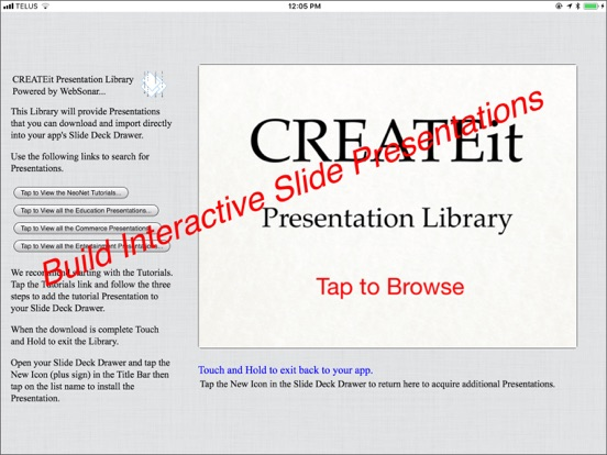 CREATEit PRO Screenshots