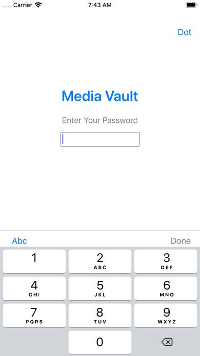 Media Vault Lock Photo & Video