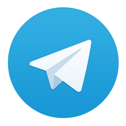 Ícone do app Telegram Messenger