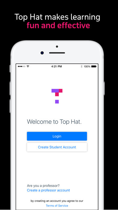 Top Hat Lecture app image