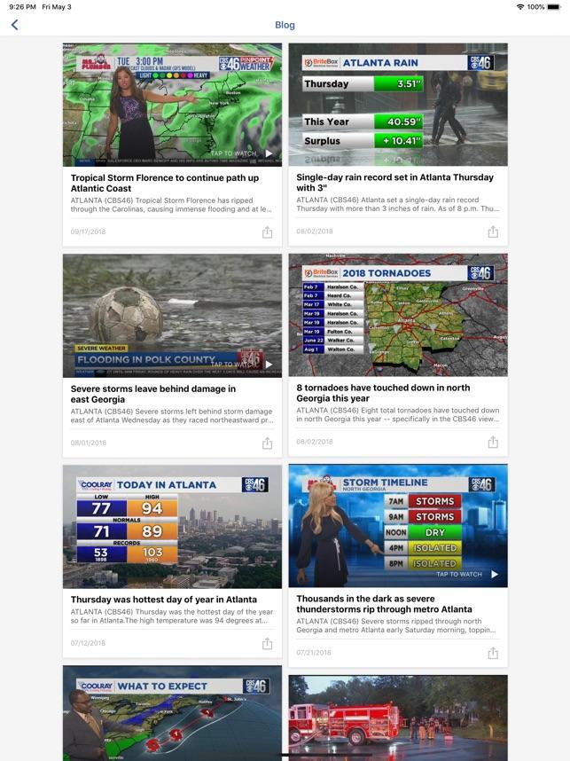 CBS46 News Atlanta on the App Store