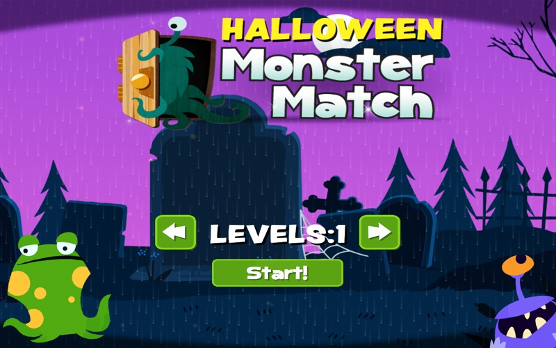 Halloween Monster Match screenshot 6