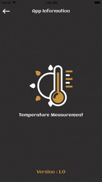 Temperature Measurement screenshot-5