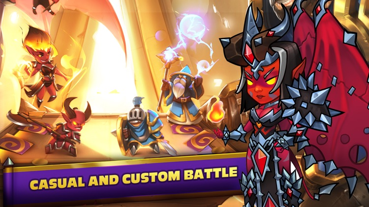Heroes of Magic - Card Battle screenshot-3