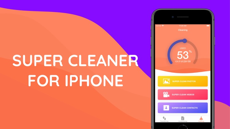 Clean master - Phone cleaner .