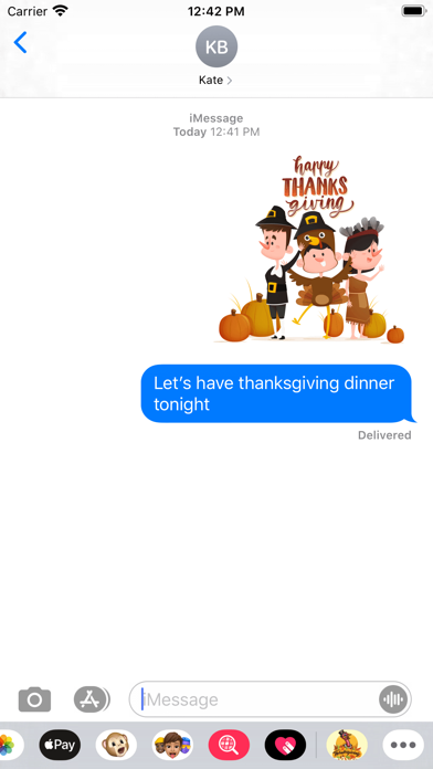 ThanksGiving Story Stickers screenshot 3