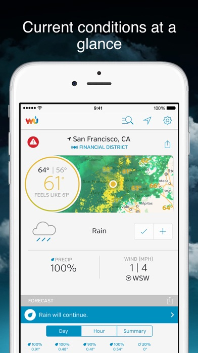 Weather Underground Screenshot