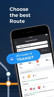 Moovit: Train & Bus Times iphone images