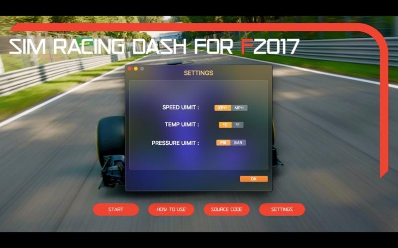 Sim Racing Dash for F2017 screenshot 7