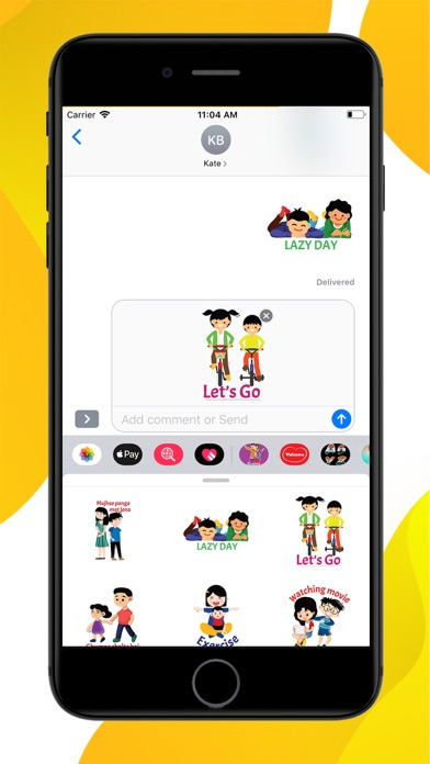 Brother Sister Stickers screenshot 2
