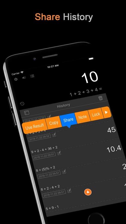 DayCalc - Note Calculator screenshot-6
