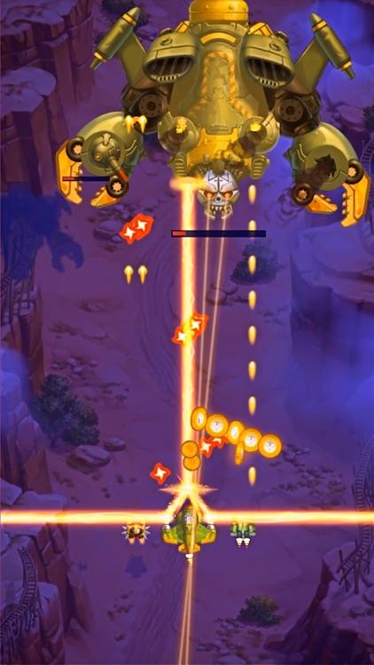 HAWK: Bullet Hell Jet Shooter screenshot-4