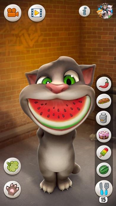 おしゃべり猫のトーキング・トム ScreenShot1