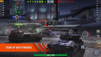 Screenshot from World of Tanks Blitz MMO