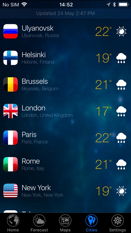 3D Earth - weather widget screenshot-6