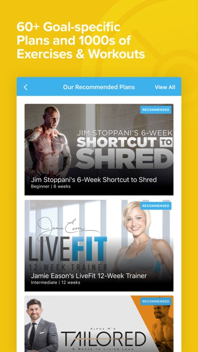 Bodybuilding.com All Access app image